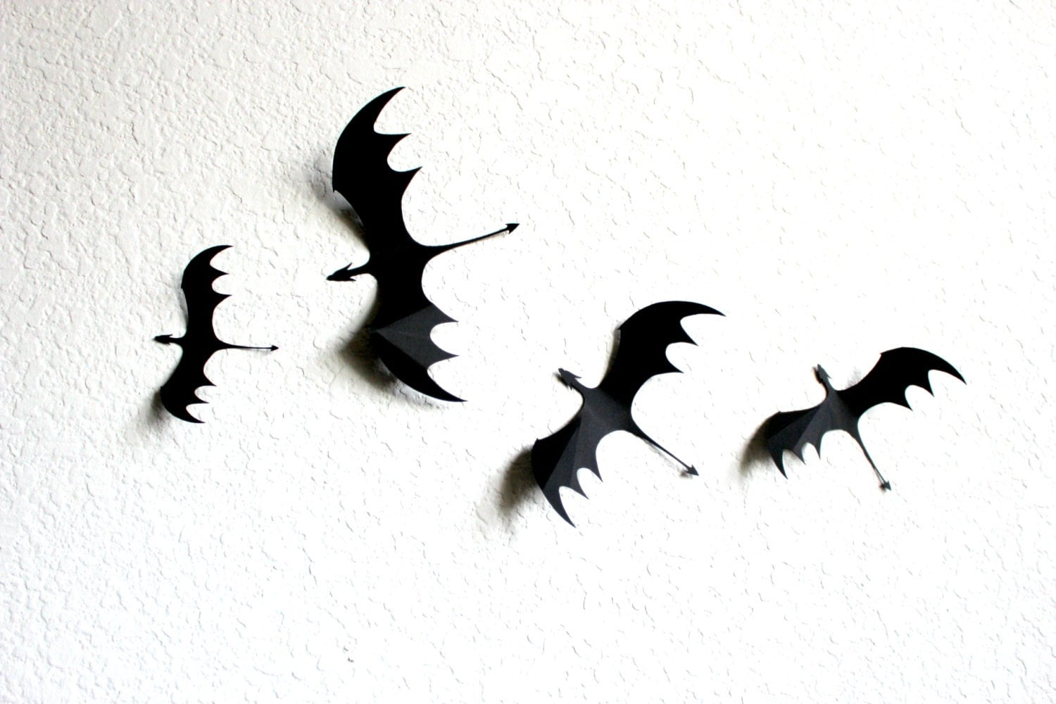 3d Dragon Wall Art Dragons Silhouettes Dragon By Mydreamdecors