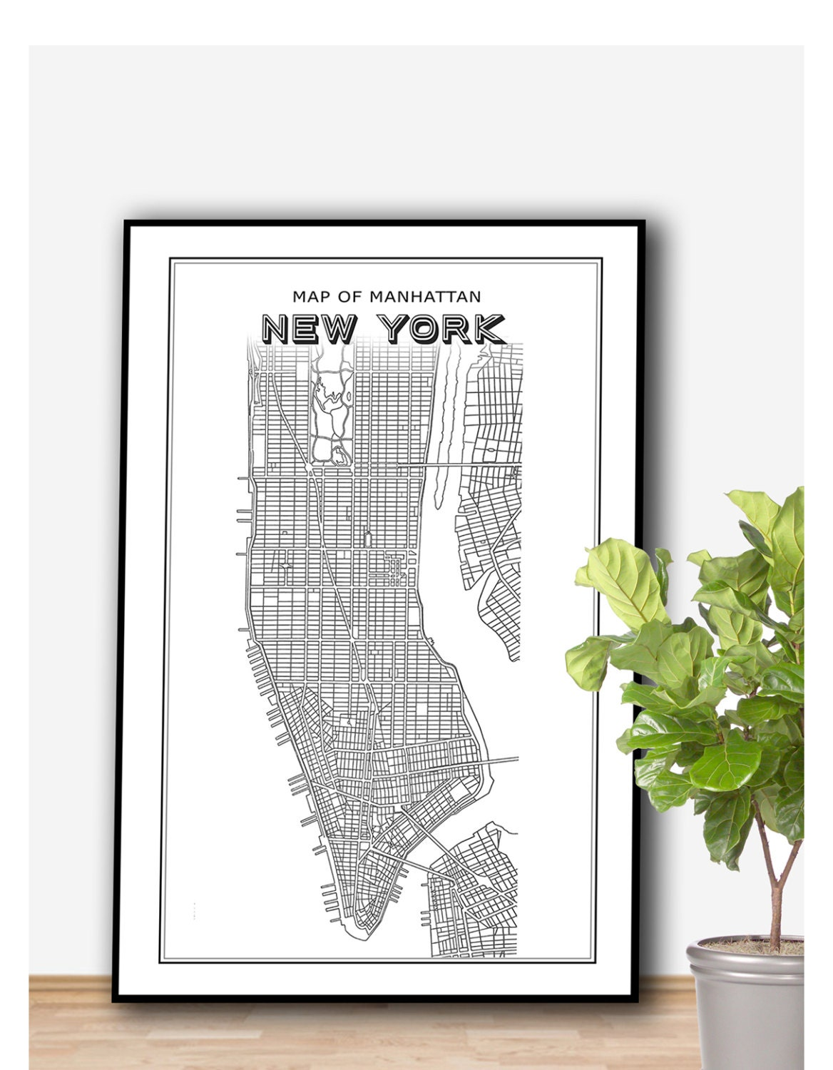 new york tavlor stor tavla new york frn ikea 2 zoom canvas image new york u2013 manhattan new. Black Bedroom Furniture Sets. Home Design Ideas