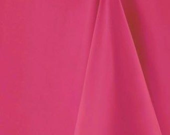 Square Raspberry colour Tablecloths - Available in 3 sizes