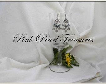 Smokin Beauty Chandelier Earrings
