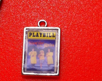 Theater / Show Charm - Playbill Play Bill - Singing in the Rain