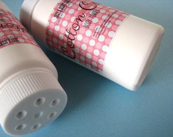 Silky Dusting Body Powder - Cotton Candy - Talc Free  - Bath and Body - Deodorizing Powder