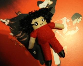 Mini Jack White Plush Doll