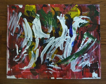 Acrylic painting by Missy Kay
