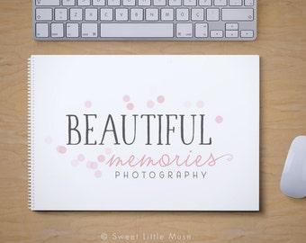 Logo Design & Watermark - Photography Logo - bokeh logo for photographers