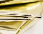Gold Mylar | Metallic Gold Mylar Tissue Paper 10 Sheets | Gold Mylar Sheets | Mylar Paper | Mylar Sheet Gold | Gold Paper