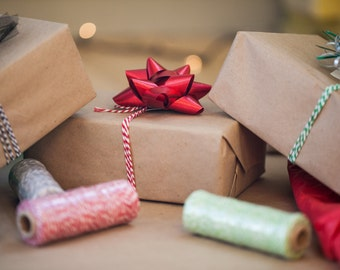 Brown Kraft Paper 15 Ft | Christmas Wrapping Paper | Christmas Gift Wrap |  Paper Tablecloth