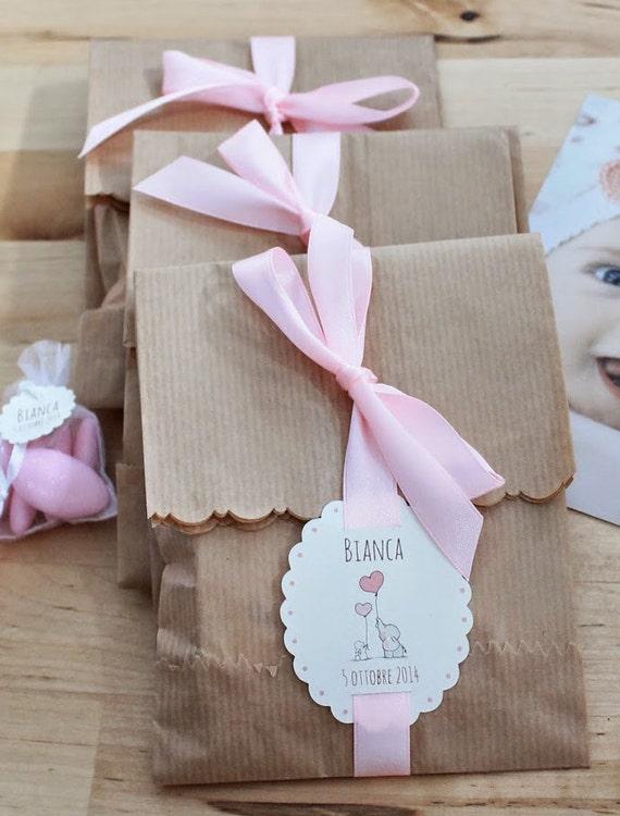 Kit 10 sacchetti bustine carta kraft decorati for Sacchetti di carta fai da te