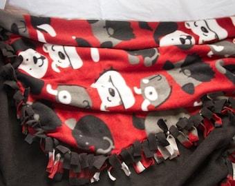 Dog No-Sew Fleece Blanket