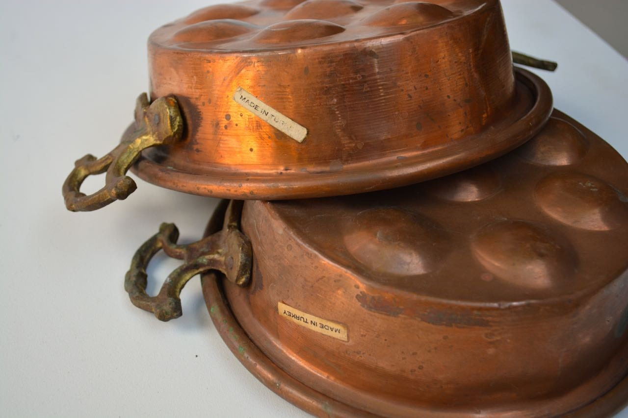 Vintage Copper Pans 51