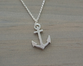 United States Navy anchor necklace