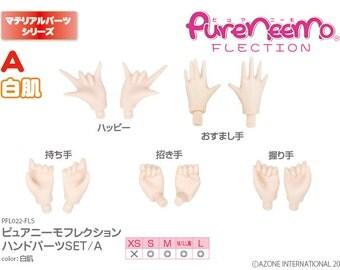 AZONE Pure Neemo Hand Set A, White