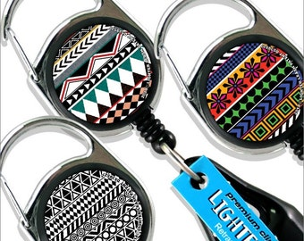 Premium Clip Lighter Leash® - Aztec Print Series