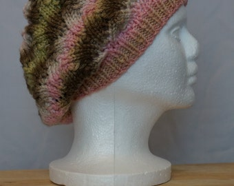 Knitted Less Slouchy Hat
