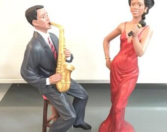 The Singing Duet.