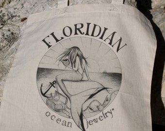 Floridian Ocean Jewelry Mermaid Bag