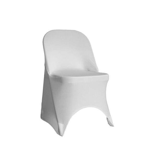 Spandex Folding Chair Cover White Stretch Chair Covers
