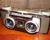 Vintage Kodak Stereo Camera 1950s Era Collectible