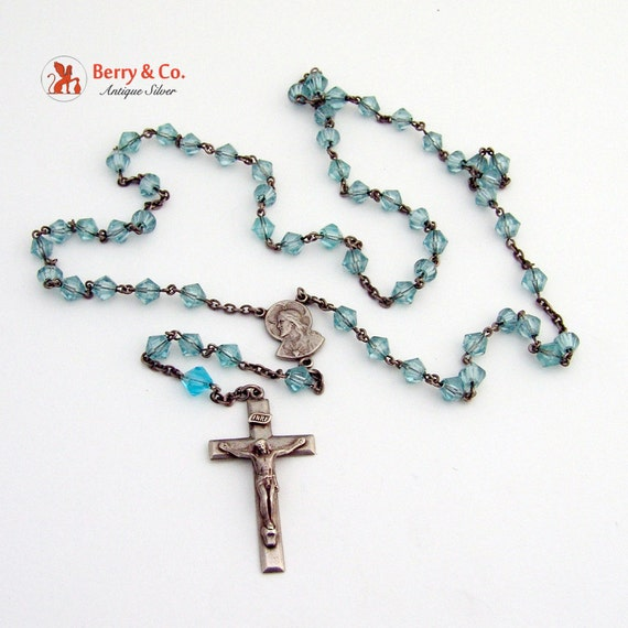 Vintage Rosary Necklace 117