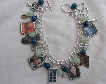 BBC Doctor Who 12th Doctor Photo Charms Bracelet