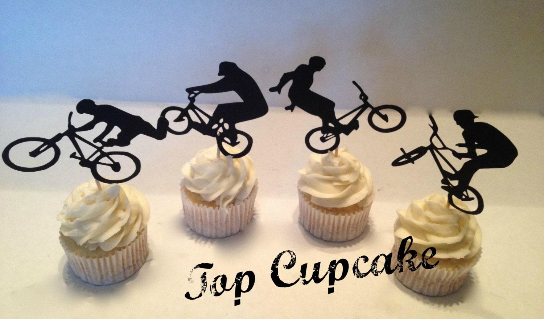 Bmx Bike Cake Toppers