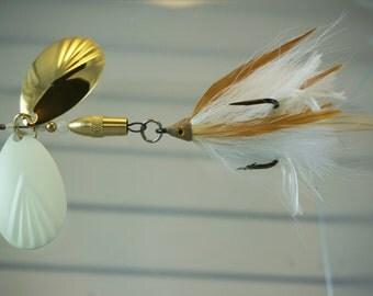 Gold & Glow FlyStyle Muskie Bucktail