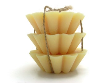Scented Soy Tart Melts - 3 Brandied Pear, Wedding, Housewarming, Birthday, Shower Favor, Gift Under 10
