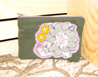 Sage Floral Pickwick Flightsuit Bag
