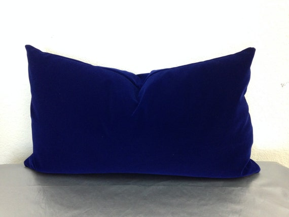 Royal Blue velvet pillow cover Holiday Decor/Pillows/Holiday