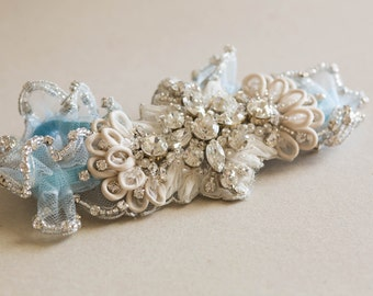 Bridal Garter Set - Style R36