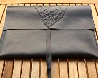 "Macbook Leather Sleeve, Macbook Air Leather Sleeve, 13"" MacBook holder, Leather laptop sleeve, Macbook Air, 13"", Macbook Air Cover, 13 inch"