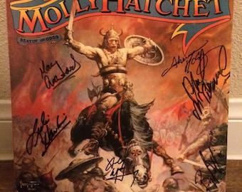 Molly Hatchet Signed Record Rare