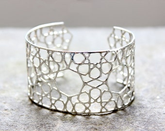 Silver Cairo Arab Bracelet