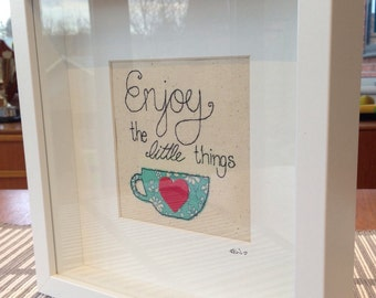 Enjoy the Little Things Picture.