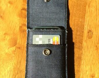 Denim IPhone Wallet