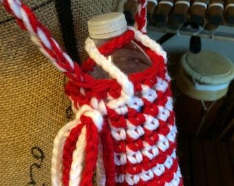 Water Bottle Bag with Adjustable Strap