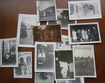 Vintage  Small  Photos 1936
