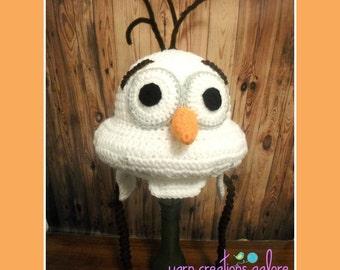 Olaf Crochet Pattern--PDF File ONLY-- Digital Download