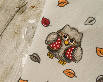 Owl Tea Towel Kitchen Towel Kitchen Owl Decor Owl Towel Owl Gift For Owl Lover Gift Woodland Owl Dish Towel Gift For Mom  Christmas Gift