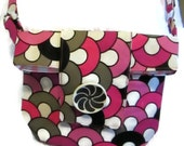 Small Hipster bag, Shoulder Bag, Cross the Body Bag for School or Travel
