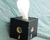 """5.25"""" Floppy Disk Tissue Box Cover"""