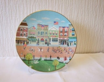 Royal Doulton Fourth of July Parade Collector plate #965 out of 10,000