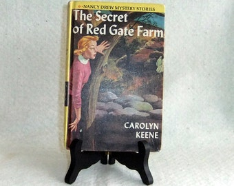 Vintage Book in the Nancy Drew Series, The Secret At Red Gate Farm