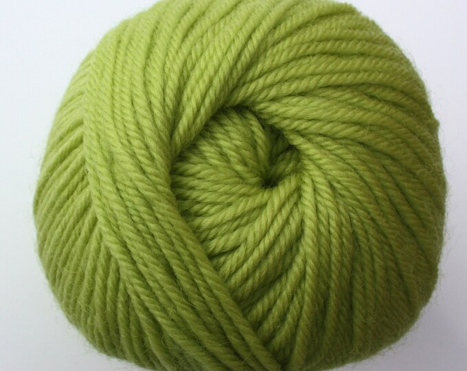 SALE*** Staples 8ply / DK - 0446 Acid Green 100g  - 100% Merino - 177m/100gm