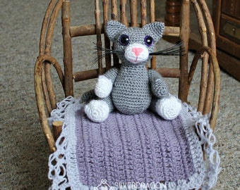 Little Miss Kitten PDF Pattern with Permission to sell the finished item