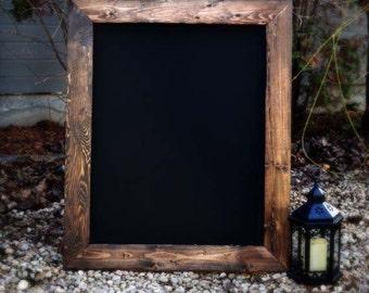 Rustic Framed Chalkboard 36x28, Rustic Chalkboard, Rustic Home Decor, Rustic Blackboard, Fall Wedding,Gift Ideas,Menu Board,Reclaimed Wood