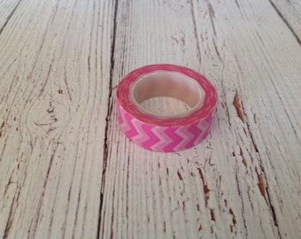 Pink zigzag washi tape