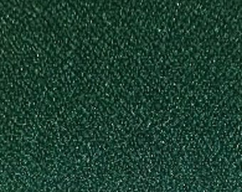 """Hunter Green Crepe Fabric - 60"""", By The Yard"""