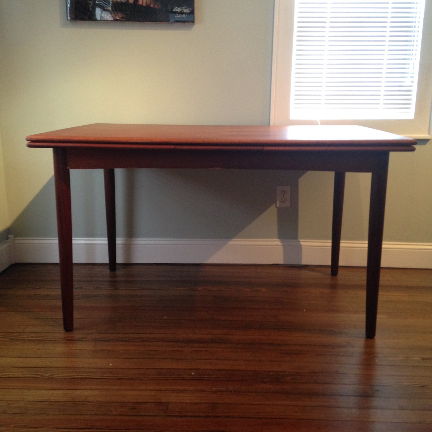 vintage danish modern teak dining table 775 obo free nyc