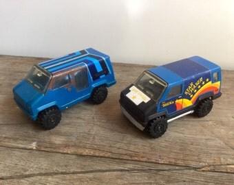 1978 Blue Tonka Van Toys